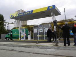 RWE and Benzina build three CNG stations