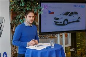 Šéf Dacie Konečný předvedl nový Duster