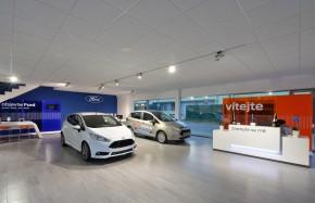 Nejmodernější Ford je ve Valašském Meziříčí