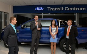 Ford opended new showroom in Moravia