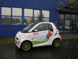 V lisovně S.N.O.P. testovali elektromobil Smart