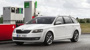 E.ON odprodává flotilu Škoda Octavia CNG