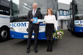 EvoBus předal 12 autobusů ČSAD Slaný