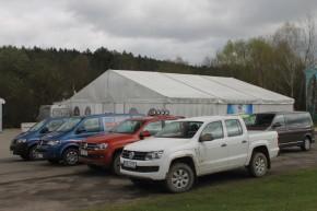 Procházka předvedl Volkswagen Amarok v Bělé (VIDEO)