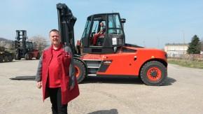 Šenovský VOP rozběhl výrobu vozíků pro Linde MH