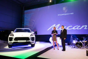 Porsche Prague had 500 guests at Macan's show
