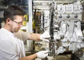 Škoda produces three-millionth 1.2 HTP engine