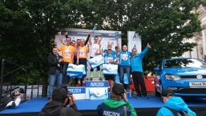 Štafeta Porsche Plzeň zaběhla bronz na VW Maratonu