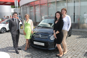 Citroen managers launched C1 in Prague