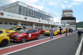 Renault tested Megane RS in Most