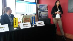 Goodyear ukázal novou Ultra Grip 9 u bobové dráhy