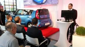 Kia zahájila prodeje elektromobilu Soul na Štvanici