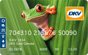 DKV nabízí kartu pro CO2 neutrální tankování