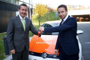 Volkswagen má elektromobilní partnerství s ČEZ