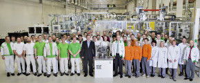 ŠKODA plant: 500,000th DQ 200 transmission