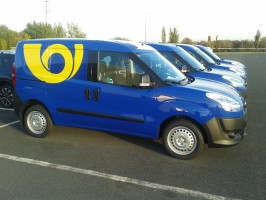 Czech Post hires CNG vans from LeasePlan