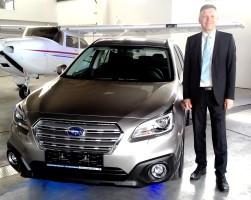 Neuman představil novinky Subaru v Letňanech