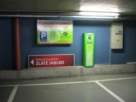 ČEZ otevřel dobíjecí stanici ve Zlíně