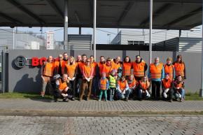 Zaměstnanci firmy Bosch uklízeli Vysočinu