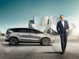 Renault Espace uvede na trh Kevin Spacey