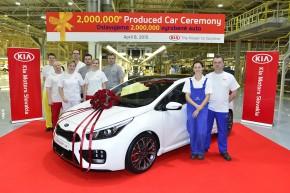 Slovenská Kia vyrobila 2milionté auto