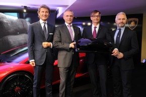 Lamborghini opens new showroom in Prague