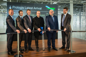 Prologis má první halu v areálu Park Prague-Airport