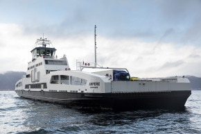First electrical car ferry in Norway