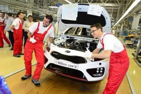 Kia vyrobila na Slovensku miliontý cee'd