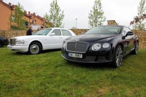 Do Dubče se sjedou Rollsy a Bentleye