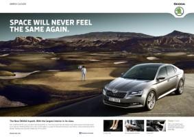 Škoda jede globální reklamu na Superb