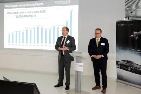 Porsche ČR mělo výroční konferenci v Radlicích