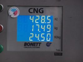 Bonett snížil ceny v největší síti CNG stanic