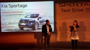 Kia showcased new Sportage in Barcelona