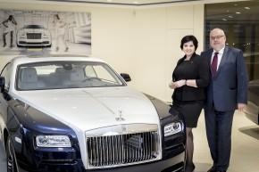 Kadlecovi otevřeli showroom Rolls-Royce