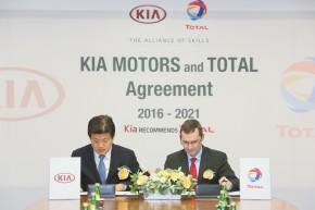 Kia Motors prodloužila partnerství s Totalem