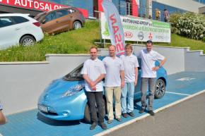 Nissan Leaf opět překonal český rekord