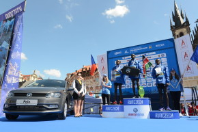 Volkswagen sponsored Prague Marathon