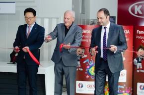 MKD opens Kia showroom in Kladno