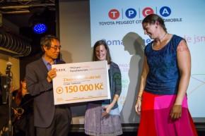 TPCA předala granty pro Kolínsko ve Scapinu