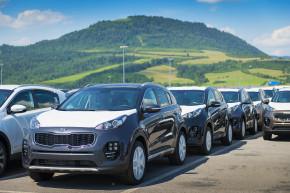Kia Sportage lídrem slovenské výroby 2016