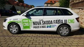 Podpora 50 tisíc Kč na CNG vůz pro samosprávu