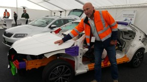 Skoda organized Safety Day in Úhelnice