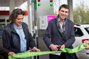 Innogy opened a CNG filler in Melnik