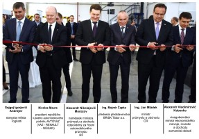 Brisk otevřel továrnu v ruském Togliatti