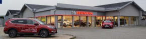 Honda has strengthened its sales network in Zlin
