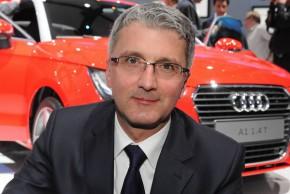 Šéf automobilky Audi Stadler je ve vazbě