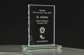 PR manažer 2016: bronz má Radka Matthey