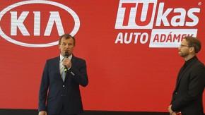 TUkas otevřel v Modřanech autosalon Kia