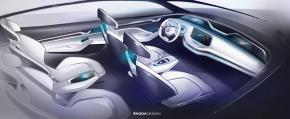 Škoda ukáže v Šanghaji studii elektromobilu